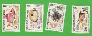 FRP SC #199-202 MNH 1962 Fish, CV $38.50