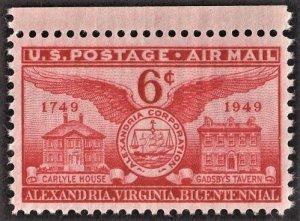 US C40 MNH VF 6 Cent Alexandria Bicentennial Single