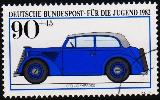 Germany. 1982 90p+45pf S.G.1990 Fine Used