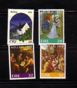 Ireland Sc 881-4 1992 Christmas stamp set mint NH
