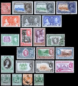 British Honduras Scott 94 // MR4 (1927-57) Mint/Used H F-VF, CV $30.80 B