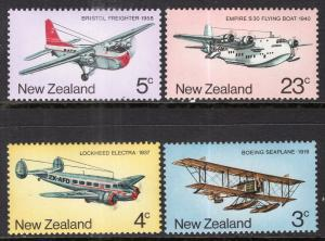 New Zealand 556-559 Airplanes MNH VF