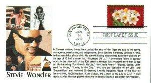 6° Cachets 4435 Chinese New Year Stevie Wonder