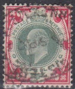 Great Britain #138a F-VF Used CV $70.00 (B600)