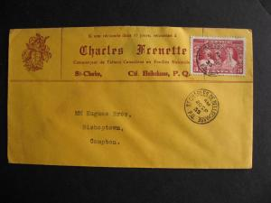 CANADA 1935 Charles Frenette St Charles QC advertising cover, check it out!