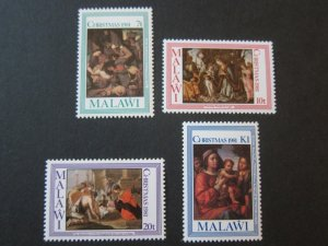 Malawi 1981 Sc 390-3 Christmas Religion set MNH
