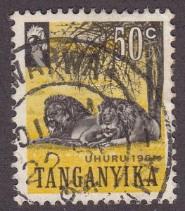 Tanganyika 50 Wild African Lions 1961
