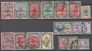 COLLECTION LOT # 2903 SUDAN 18 STAMPS 1902+ CLEARANCE CV+$23