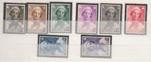 J26542  jlstamps 1935 belgium set mh #b170-7 queen