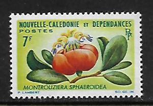 NEW CALEDONIA  335   MINT HINGED, FLOWER 1965