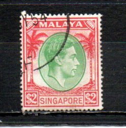 Singapore 19a used