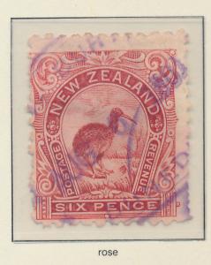 New Zealand Stamp Scott #93, Used - Free U.S. Shipping, Free Worldwide Shippi...