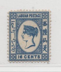 Malaya Labuan - 1883 - SG20 - 16c - MH #678