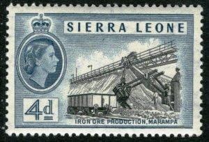 SIERRA LEONE - #200 - MINT NH -1956 - Item SL009