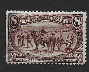 U.S. Vintage Stamps SC#289 Unused F- VF CV$200