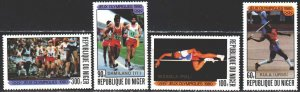 Niger. 1980. 714-17. Moscow, summer olympic games. MNH.