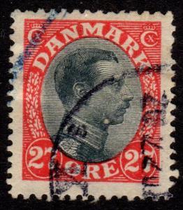 Denmark - Scott #110 Used (King Christian X)
