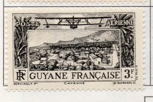 French Guiana 1933 Air Early Issue Fine Mint Hinged 3F. 177974