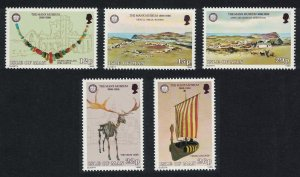 Isle of Man Centenary of Manx Museum 5v SG#310-314