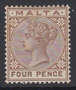 MALTA, Scott 12, MHR (couple toned spots)