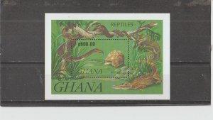Ghana  Scott#  142a  MNH  S/S  (1963 International Red Cross)