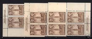 Canada #257 Mint Plate #2 UL UR LR VF/NH Blocks