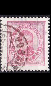 PORTUGAL [1884] MiNr 0063 b ( O/used )