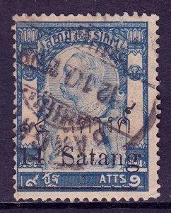 Thailand - Scott #101 - Used - Toning - SCV $9.00