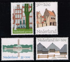 Netherlands #B509-B512 Architecture Set of 4; MNH (2.85)
