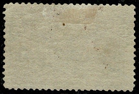U.S.A. 1893 15c BLUE-GREEN UNUSED (MH) SG243 Wmk.none P.12 VGC