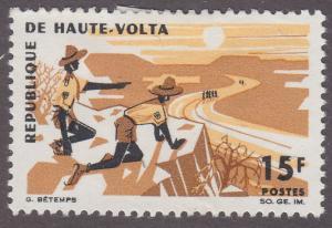 Upper Volta 169 Boy Scouts 1966