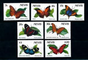 [98805] Nevis 1991 Insects Butterflies From set MNH