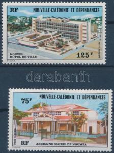New-Caledonia stamp Town hall set MNH 1976 Mi 585-586 WS145973