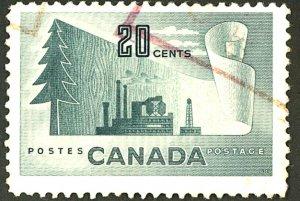 CANADA #316 USED