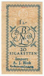 (I.B) Netherlands Revenue : Tobacco Duty 1f
