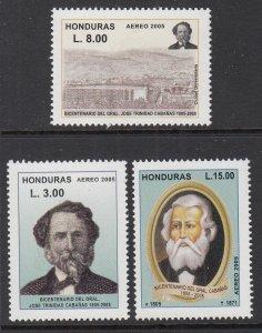 Honduras C1214-C1216 MNH VF
