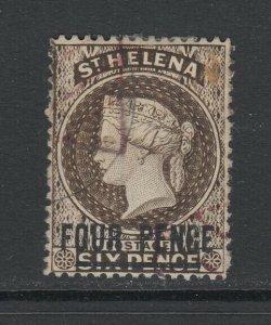 St. Helena, Scott 38a (SG 43c), used