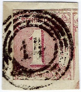 Germany North District SC#18 Used VF. SCV$27.50..Grab a Bargain!
