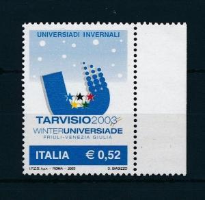 [24856] Italy 2003 Winter sports MNH