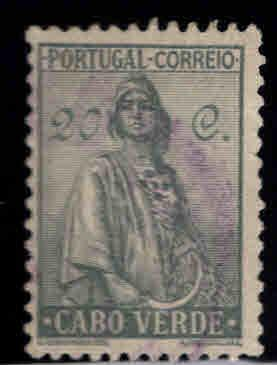 Cabo or Cape Verde Scott 219 Used stamp