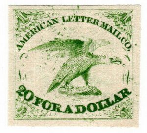 (I.B) US Local Post : American Letter Mail Co 5c