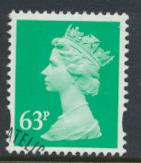Great Britain SG Y1732 Sc# MH235    Used with first day cancel - Machin 63p