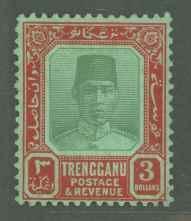 Malaya Trengganu 37 Mint F-VF LH