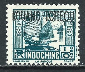 France - Offices in China (Kwangchowan), Sc #99, 1/10c MNH