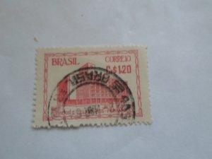 BRASIL STAMP USED FINE CON. NO HINGE MARKS # 7