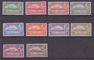 Montserrat 1932 KGV Sc 75-89 set MLH