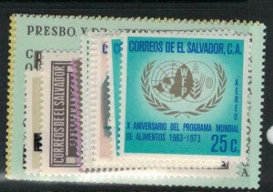 El Salvador SC 841a-6, C321, 324, 341-2 MOG (7ecq)