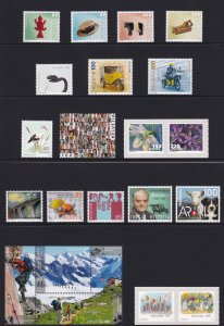 Switzerland 2013 Complete Year Set Incl. Souvenir sheets MNH