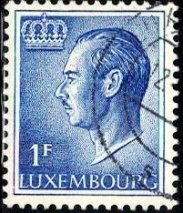 Grand Duke Jean, Luxembourg stamp SC#420 used