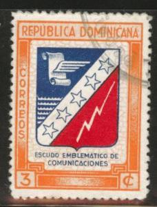 Dominican Republic Scott 417 used 1945 stamp